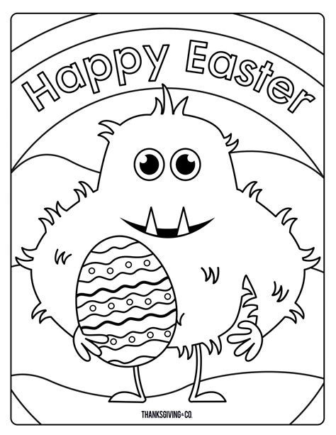easter coloring sweet and easter coloring pages