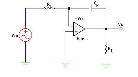 integrating circuit equation integrator circuit equation