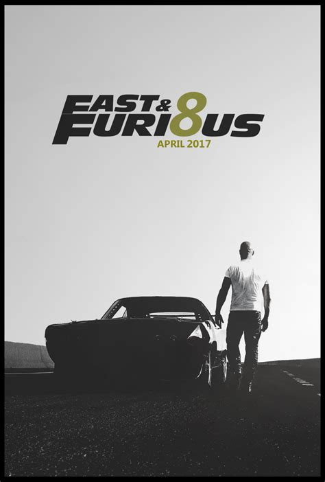 fast and furious 8 teaser furious 8 teaser poster by tldesignn on deviantart