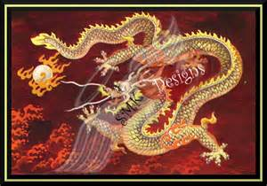 traditional mountain tattoo second life marketplace red chinese dragon framed art asian zen