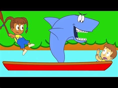 cartoon boat youtube row your boat best cartoons konas2002 youtube