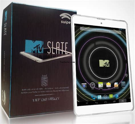 mtv slate tablet full specifications price in india reviews