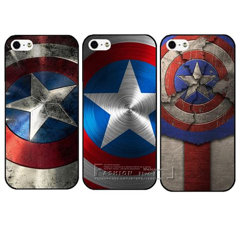 Casing Soft Captain America Marvel For Iphone 6 6s aliexpress buy new arrival marvel captain america plastic protective back