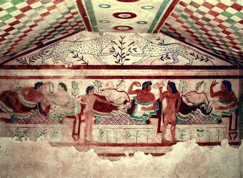 banchetto etrusco a tavola con gli etruschi i banchetti la cucina cosa e