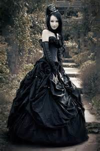Lace and bow gothic victorian dress black and white cap sleeves gothic
