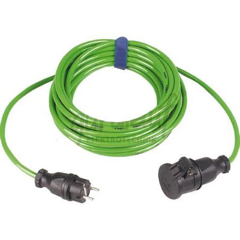 Kabel Supreme 3 X 1 5 Mm verlengsnoer groen pur kabel 3x1 5mm 178 10m ip44
