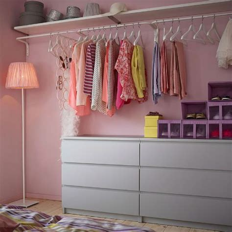 shelves for clothes in bedroom when closet space is limited make use of the walls with