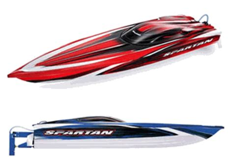 traxxas boats best buy spartan brushless 36 race boat with tqi 2 4 ghz radio