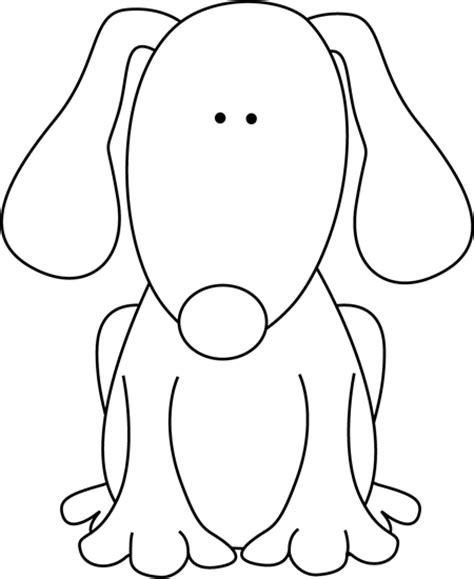 puppy clipart black and white black and white for d clip black and white for d image