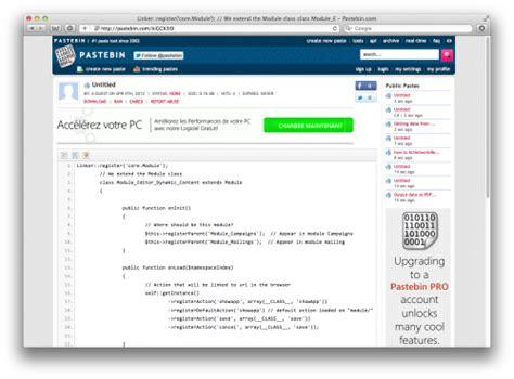 all pastebincom pastebin veut faire le grand m 233 nage dans ses fichiers textes