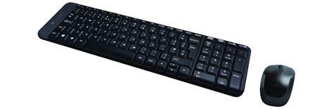 Logitech Wireless Desktop Mk220 logitech mk220 wireless desktop zestawy klawiatura i
