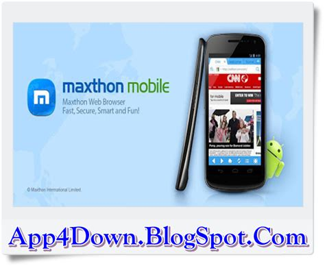 maxthon browser apk maxthon browser 4 5 0 2000 for android apk app4downloads app for downloads