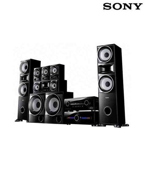 buy sony ht ddw5500 6 2 home theatre system at best