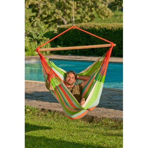 Hammock Shop Quot Hanging Chair Lounger Quot La Siesta Domingo Coral By The