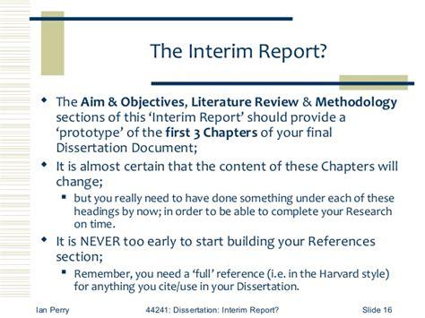 interim report exle for dissertation interim report of dissertation essay academic service