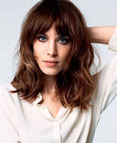 long lob haircut with bangs hnczcyw com layered lob haircut with bangs www pixshark com images
