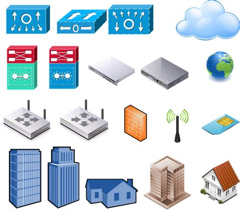 visio icons for powerpoint visio stencil set for 2014 vmware vsphere and horizon
