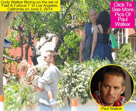 how did they film fast and furious 7 cody walker filming fast furious 7 paul walker s