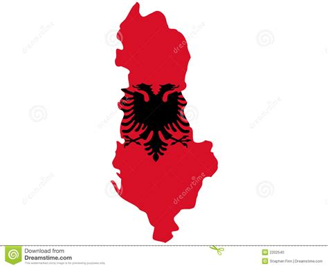 where is albania on the map map of albania stock vector image of vector nation