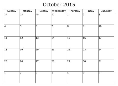free printable weekly calendar september 2015 8 best images of free printable planners october and