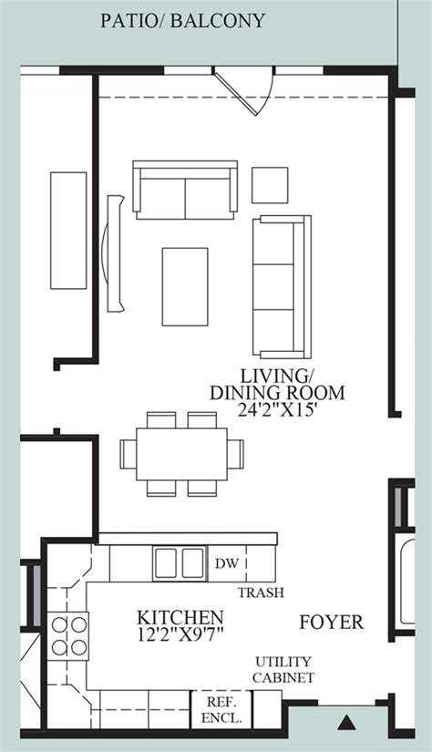 floor plan with balcony rivington by toll brothers the mews collection the