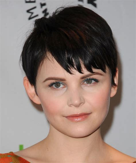 short hair styles cut round the ear 24 flattering pixie cuts for round faces creativefan