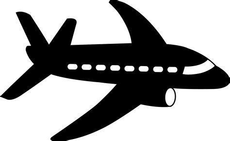White Shower aeroplane clipart black and white clip art library