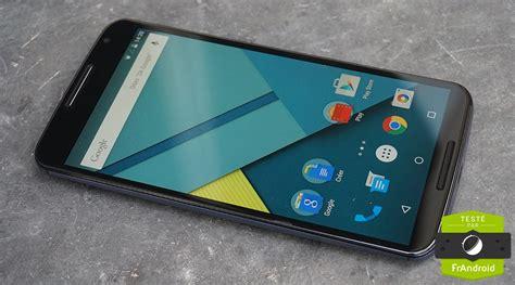 android nexus 6 android 7 1 1 nougat sur nexus 6 d 233 grade les appels en haut parleur frandroid