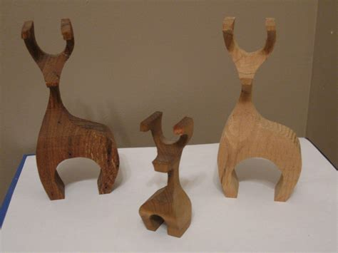 wood decorative reindeer