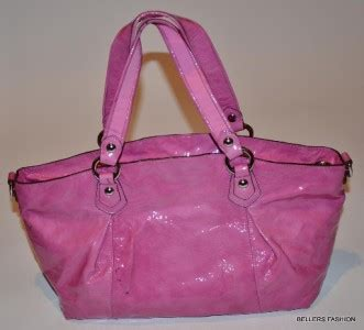 Tas Coach Original Coach Large Pink Satchel 298 coach petal pink large leather shoulder bag handbag ebay
