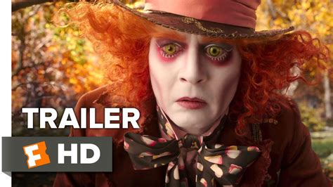 film fantasy johnny depp alice through the looking glass official trailer 1 2016