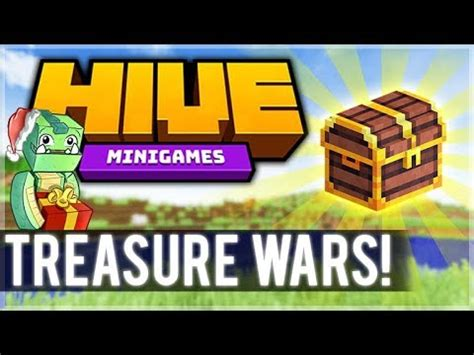 destroying everyone! 1.8 mcpe hive server! treasure wars
