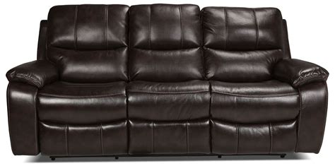 levin furniture couches kimberlee reclining sofa dark brown levin furniture