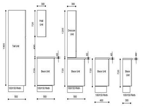 height of design 28 what is standard height for kitchen cabinets