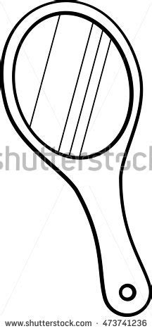 coloring page of held mirror holding mirror coloring pages