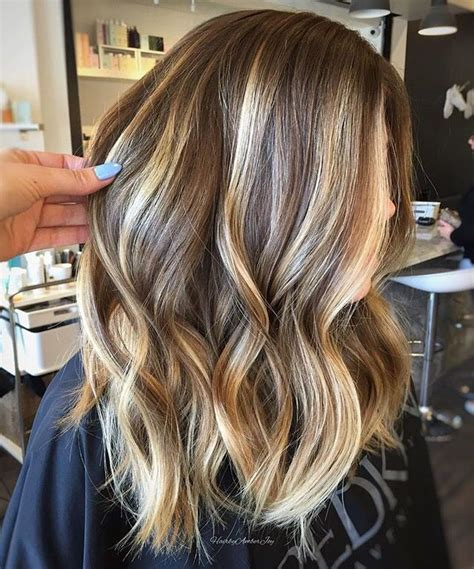 Balayage For Light Brown Hair by 25 B 228 Sta With Highlights Id 233 Erna P 229