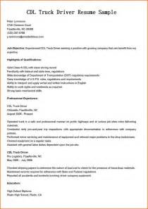 Truck Driver Resume Example 9 Commercial Driver Resume Examples Denial Letter Sample