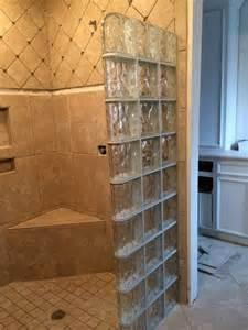 glasbaustein dusche glass block showers glass block shower kits