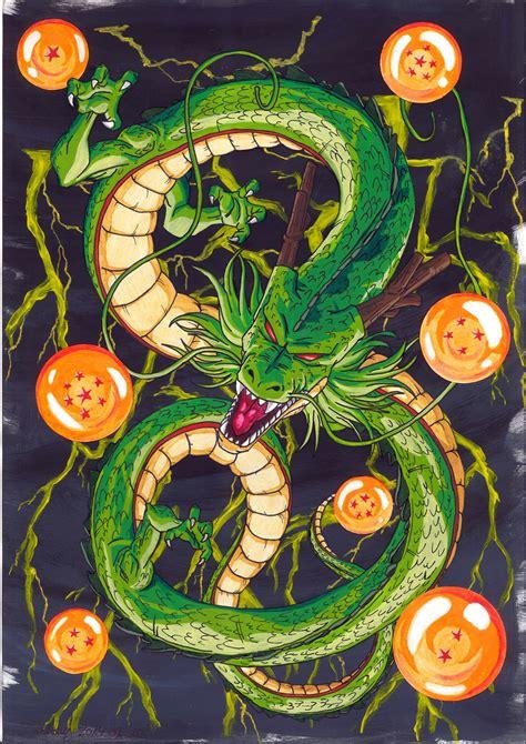 dragon ball z ultimate wallpaper shenron the ultimate by zackary on deviantart