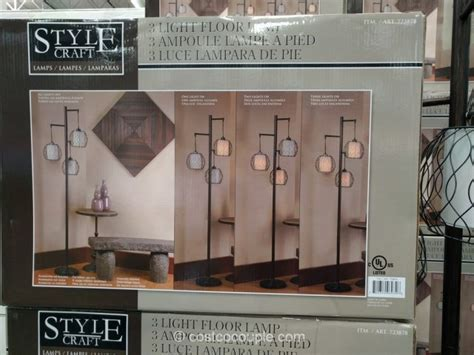 stylecraft 3 light floor l stylecraft 3 light floor l