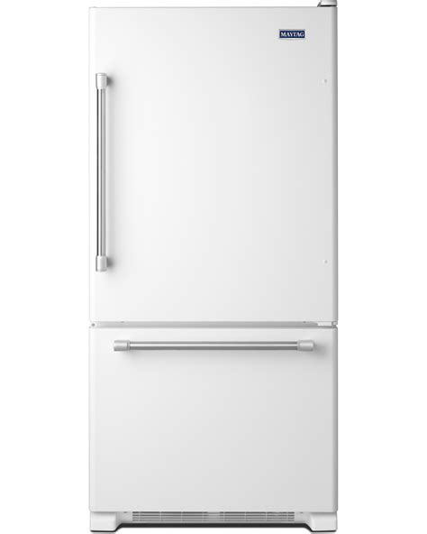 Single Door Refrigerator With Bottom Drawer Freezer by Maytag Mbf2258deh 22 Cu Ft Single Door Bottom