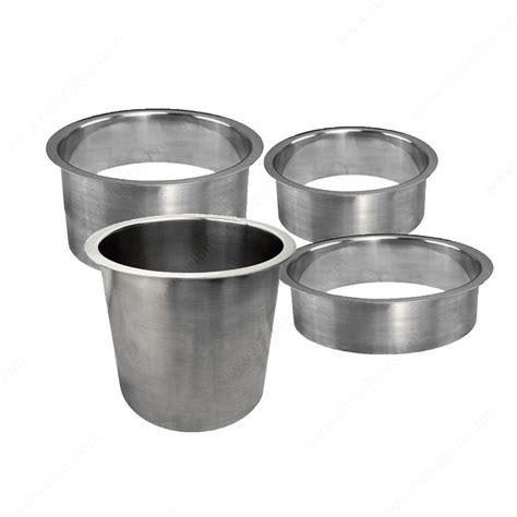 Gromet Kotak Stainless Steel stainless steel trash grommets richelieu hardware