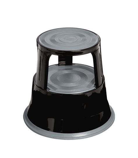 rubber for kitchen stools 2 tier step stool steel rubber black wadiga