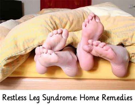 restless leg home remedies lil moo creations