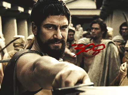 Traveling Baseball Babes: Madness? THIS. IS. SPARTA! 300 Imdb Gerard Butler
