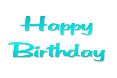 happy birthday logo design png happy birthday transparent png images