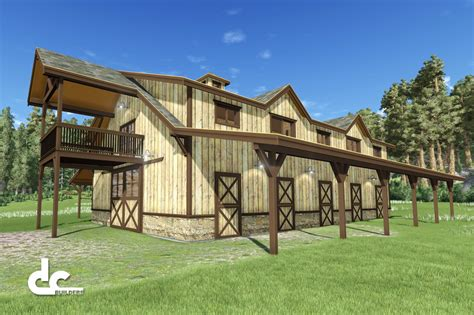 Shed Living Quarters by Barn Plans With Living Quarters Www Imgkid