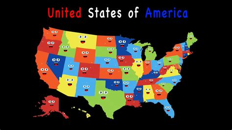 50 states map song 95 us 50 states capitals map united states and capitals