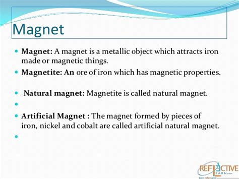 magnet summary template summary with magnets