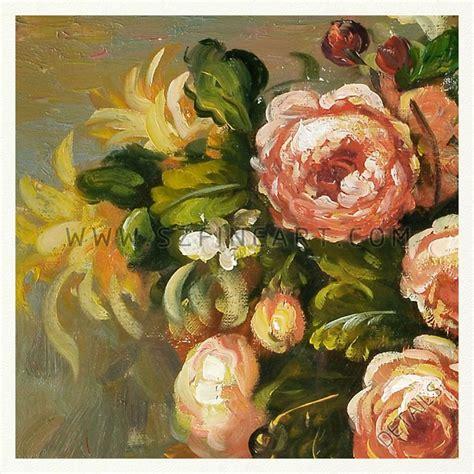 Delft Vase Value Roses And Jasmine In A Delft Vase 100 Handmade Impression